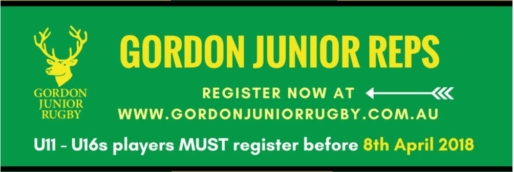 Register for Gordon Reps